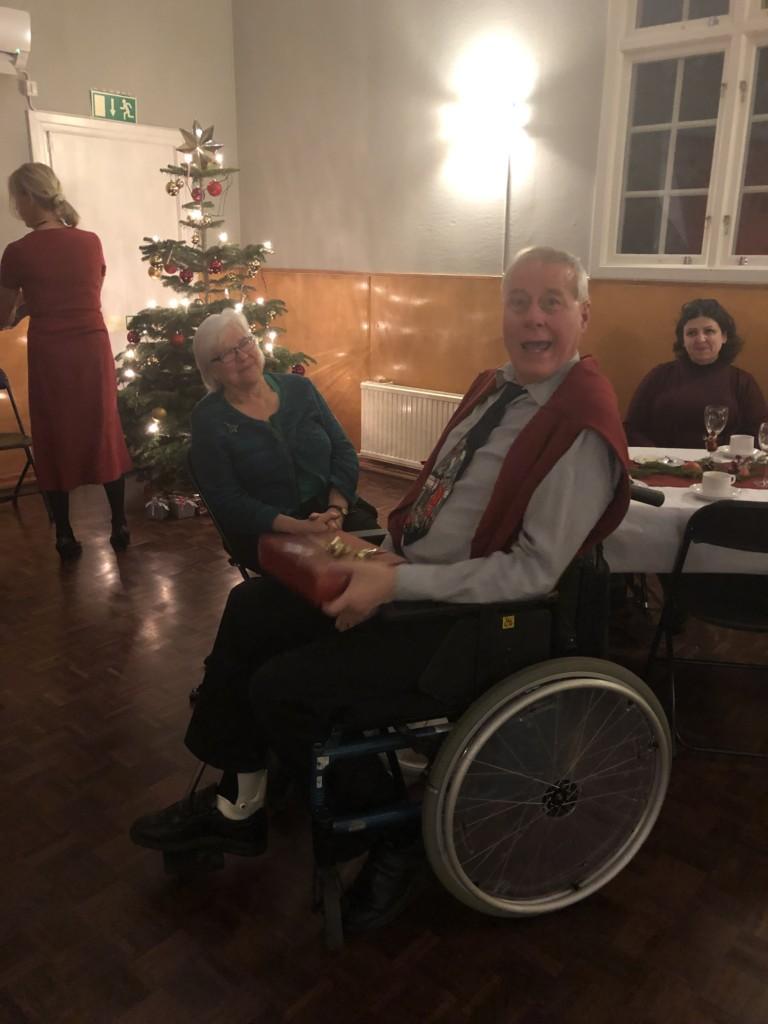 Glädje på julfest glaucus assistans uppsala