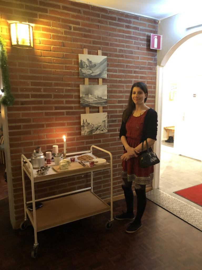 Julbord i uppsala med glaucus assistans