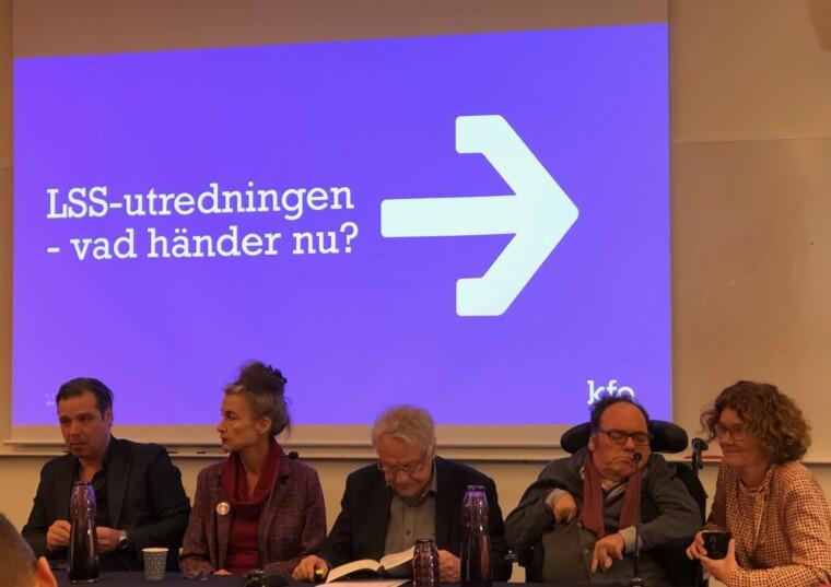 Paneldebatt nya LSS-utredningen