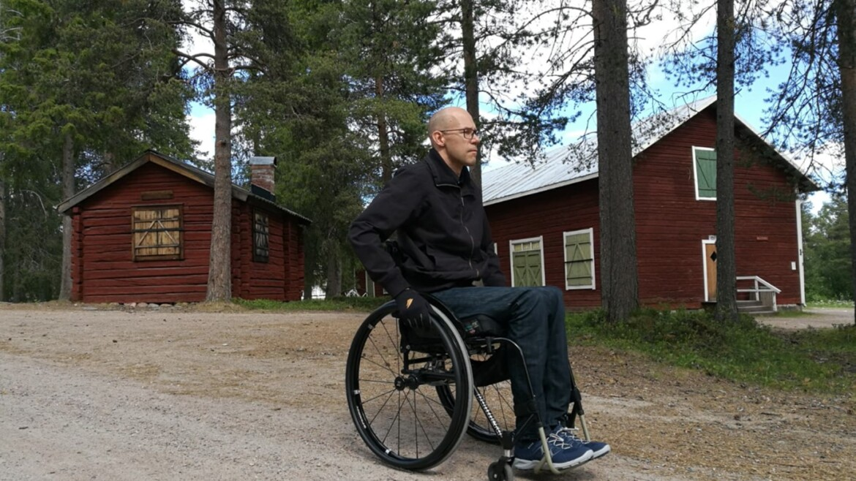 När rullstolen blev en befrielse